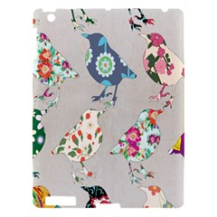 Birds Floral Pattern Wallpaper Apple Ipad 3/4 Hardshell Case by Amaryn4rt