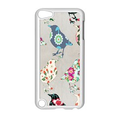 Birds Floral Pattern Wallpaper Apple Ipod Touch 5 Case (white) by Amaryn4rt