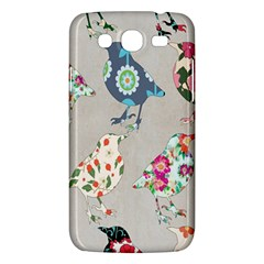 Birds Floral Pattern Wallpaper Samsung Galaxy Mega 5 8 I9152 Hardshell Case  by Amaryn4rt