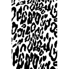 Black And White Leopard Skin 5 5  X 8 5  Notebooks by Amaryn4rt