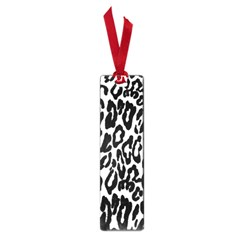 Black And White Leopard Skin Small Book Marks by Amaryn4rt