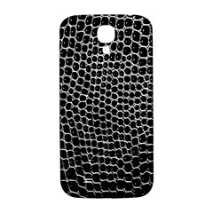 Black White Crocodile Background Samsung Galaxy S4 I9500/i9505  Hardshell Back Case by Amaryn4rt