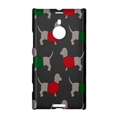 Cute Dachshund Dogs Wearing Jumpers Wallpaper Pattern Background Nokia Lumia 1520 by Amaryn4rt