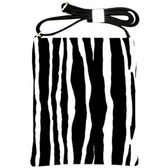 Zebra Background Pattern Shoulder Sling Bags by Amaryn4rt