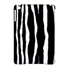Zebra Background Pattern Apple Ipad Mini Hardshell Case (compatible With Smart Cover) by Amaryn4rt