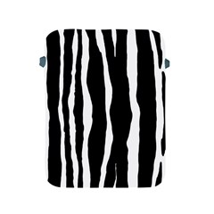 Zebra Background Pattern Apple Ipad 2/3/4 Protective Soft Cases by Amaryn4rt
