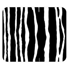 Zebra Background Pattern Double Sided Flano Blanket (small)  by Amaryn4rt