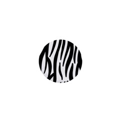 Seamless Zebra A Completely Zebra Skin Background Pattern 1  Mini Buttons