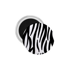 Seamless Zebra A Completely Zebra Skin Background Pattern 1 75  Magnets by Amaryn4rt