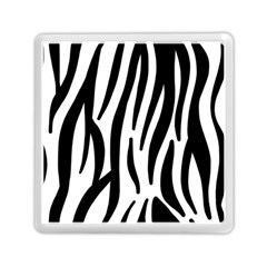 Seamless Zebra A Completely Zebra Skin Background Pattern Memory Card Reader (square)  by Amaryn4rt