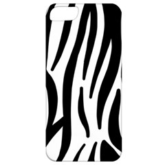 Seamless Zebra A Completely Zebra Skin Background Pattern Apple Iphone 5 Classic Hardshell Case by Amaryn4rt