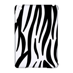 Seamless Zebra A Completely Zebra Skin Background Pattern Apple Ipad Mini Hardshell Case (compatible With Smart Cover) by Amaryn4rt