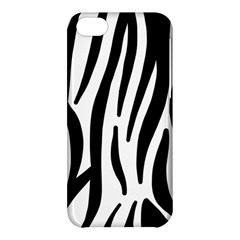 Seamless Zebra A Completely Zebra Skin Background Pattern Apple Iphone 5c Hardshell Case by Amaryn4rt