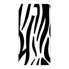 Seamless Zebra A Completely Zebra Skin Background Pattern Samsung Galaxy Note 3 N9005 Hardshell Back Case by Amaryn4rt