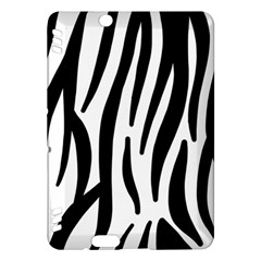 Seamless Zebra A Completely Zebra Skin Background Pattern Kindle Fire Hdx Hardshell Case by Amaryn4rt