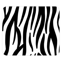 Seamless Zebra A Completely Zebra Skin Background Pattern Double Sided Flano Blanket (small)  by Amaryn4rt