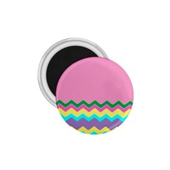 Easter Chevron Pattern Stripes 1.75  Magnets