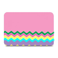 Easter Chevron Pattern Stripes Plate Mats