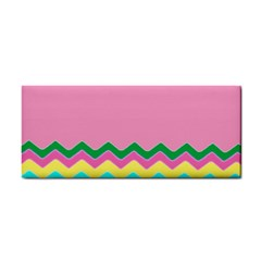 Easter Chevron Pattern Stripes Cosmetic Storage Cases