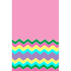 Easter Chevron Pattern Stripes 5 5  X 8 5  Notebooks by Amaryn4rt