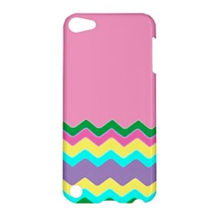 Easter Chevron Pattern Stripes Apple iPod Touch 5 Hardshell Case