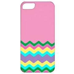 Easter Chevron Pattern Stripes Apple iPhone 5 Classic Hardshell Case