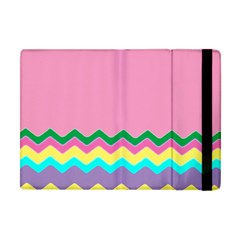 Easter Chevron Pattern Stripes Apple iPad Mini Flip Case