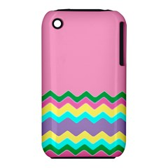 Easter Chevron Pattern Stripes iPhone 3S/3GS
