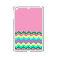 Easter Chevron Pattern Stripes iPad Mini 2 Enamel Coated Cases