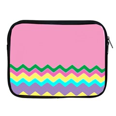Easter Chevron Pattern Stripes Apple iPad 2/3/4 Zipper Cases