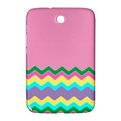 Easter Chevron Pattern Stripes Samsung Galaxy Note 8.0 N5100 Hardshell Case