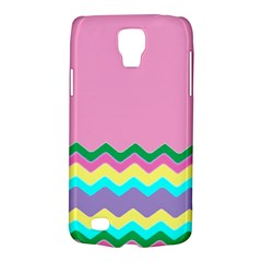 Easter Chevron Pattern Stripes Galaxy S4 Active by Amaryn4rt