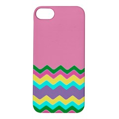 Easter Chevron Pattern Stripes Apple iPhone 5S/ SE Hardshell Case