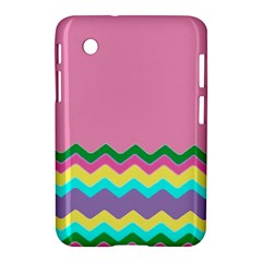 Easter Chevron Pattern Stripes Samsung Galaxy Tab 2 (7 ) P3100 Hardshell Case