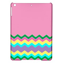 Easter Chevron Pattern Stripes iPad Air Hardshell Cases