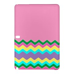 Easter Chevron Pattern Stripes Samsung Galaxy Tab Pro 10.1 Hardshell Case