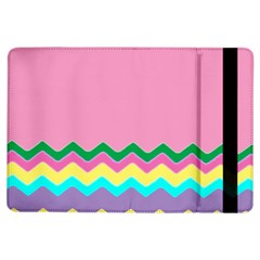 Easter Chevron Pattern Stripes iPad Air Flip