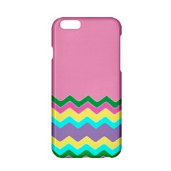 Easter Chevron Pattern Stripes Apple iPhone 6/6S Hardshell Case