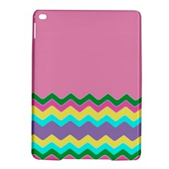 Easter Chevron Pattern Stripes iPad Air 2 Hardshell Cases