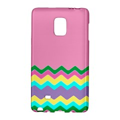 Easter Chevron Pattern Stripes Galaxy Note Edge