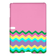Easter Chevron Pattern Stripes Samsung Galaxy Tab S (10 5 ) Hardshell Case  by Amaryn4rt