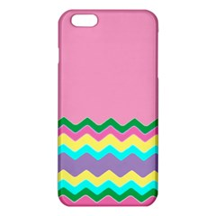 Easter Chevron Pattern Stripes iPhone 6 Plus/6S Plus TPU Case