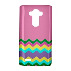 Easter Chevron Pattern Stripes LG G4 Hardshell Case
