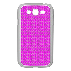 Clovers On Pink Samsung Galaxy Grand Duos I9082 Case (white) by PhotoNOLA