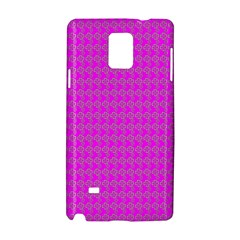Clovers On Pink Samsung Galaxy Note 4 Hardshell Case by PhotoNOLA