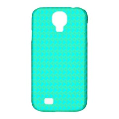 Clovers On Blue Samsung Galaxy S4 Classic Hardshell Case (pc+silicone) by PhotoNOLA
