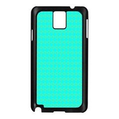Clovers On Blue Samsung Galaxy Note 3 N9005 Case (black) by PhotoNOLA