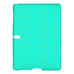 Clovers On Blue Samsung Galaxy Tab S (10 5 ) Hardshell Case  by PhotoNOLA