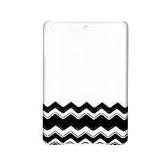 Chevrons Black Pattern Background Ipad Mini 2 Hardshell Cases by Amaryn4rt