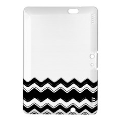 Chevrons Black Pattern Background Kindle Fire Hdx 8 9  Hardshell Case by Amaryn4rt